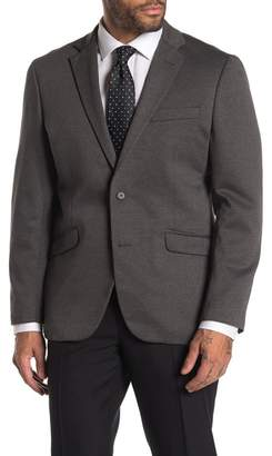 Kenneth Cole Reaction Heathered Dark Grey Slim Fit Evening Jacket