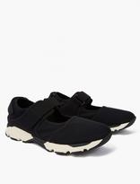 Marni Black Cut-out Neoprene Sneakers
