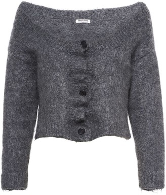 Miu Miu Brushed Cardigan