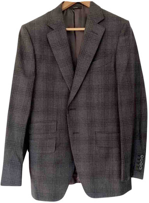 Tom Ford Grey Wool Suits