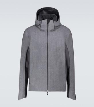 Sease Powder herringbone technical jacket