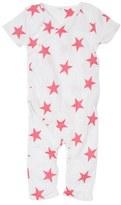 Aden Anais aden + anais Short Sleeve Kimono Romper (Baby)