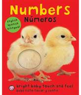 """Bright Baby Touch & Feel: Numbers"" English/Spanish Book by Roger Priddy"