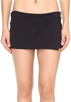 MICHAEL Michael Kors Villa Del Mar Logo Ring Swim Skirt Women's Swimwear