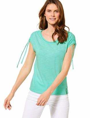 Cecil Women's 315162 mit Kurzarm und Raffungen T-Shirt