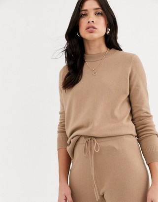 Y.A.S knitted crew neck jumper co ord