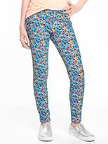 Old Navy Floral-Print Rockstar Jeggings for Girls