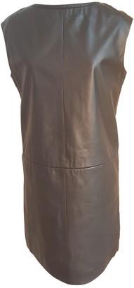 Cacharel Black Leather Dresses
