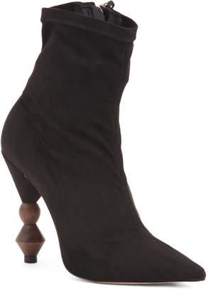 Pointy Toe Stiletto Heel Booties