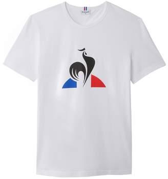 Le Coq Sportif Cotton Printed Logo T-Shirt
