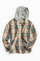 Urban Outfitters Hooded Flannel Button-Down Shirt