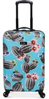 "Jessica Simpson Cactus Printed 21"" Hardside Spinner Suitcase"