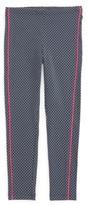 Tea Collection Girl's Stripe-N-Dot Leggings