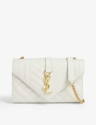 Saint Laurent Monogram leather satchel