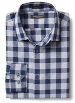 Banana Republic Grant-fit Non-iron Bold Gingham Shirt