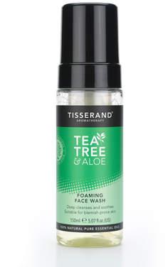 Tisserand Aromatherapy U.K. Aromatherapy Tea Tree & Aloe Foaming Face Wash 150ml