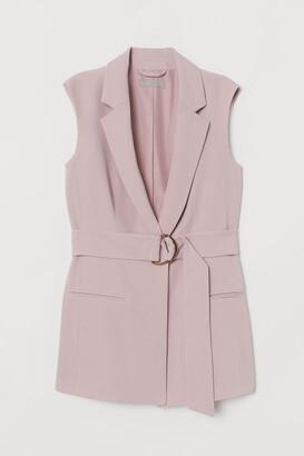 H&M Sleeveless Jacket - Pink