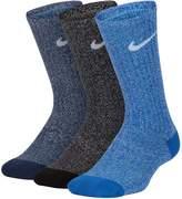 Nike Boys 4-20 6-Pack Training Crew Socks