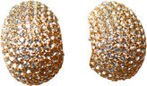 One Kings Lane Vintage 1980s Ciner Glam Earrings