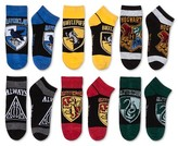 Harry Potter Women's 6 Pair pk Harry Potter Low-Cut Socks - Burgundy 9-11