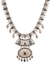 Marchesa Gold-Tone Multi-Stone Statement Necklace