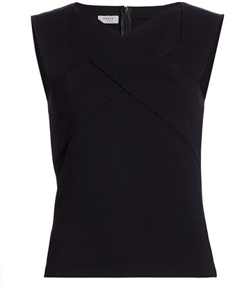 Akris Punto Sleeveless Crisscross Top