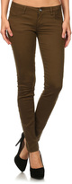 Brown Mid-Rise Jeans