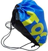 Thinkbay Unisex Boys Men PE Sport Swimming Gym Beach Climbing Outdoor Drawstring Backpack Bag Cinch Fish Blue
