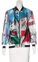 Clover Canyon Printed Bomber Jacket