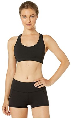 Bloch Sports Bra with Racer Back (Black) Women's Clothing