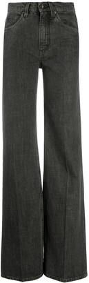 Etro High-Rise Wide Leg Jeans