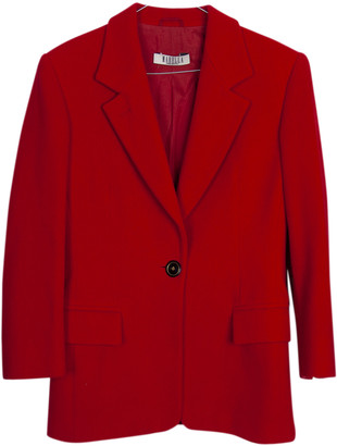 Marella Red Cashmere Jackets