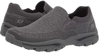 Skechers Creston - Barrow (Grey) Men's Lace up casual Shoes