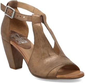 Miz Mooz Cut Out Leather Dress Heel Sandals - Posy