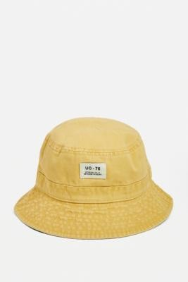 Urban Outfitters Utility Bucket Hat - White ALL at