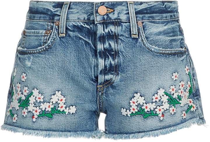 Alice + Olivia Vintage Denim Shorts
