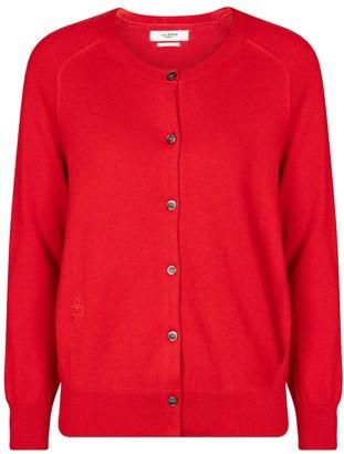 Etoile Isabel Marant Napoli cotton and wool cardigan