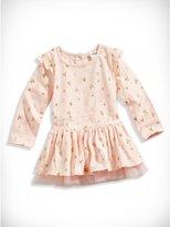 GUESS Baby Girl Glitter Heart Dress (12-24M)
