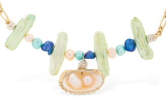 WALD BERLIN Lady Marmalade Pearl & Shell Necklace