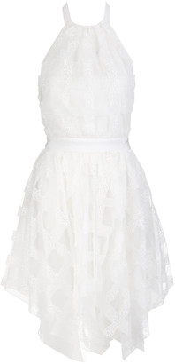 Blumarine Tulle Dress With Open Back