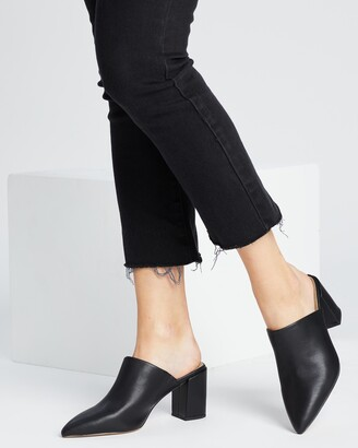 Spurr Women's Black High Heels - Jael Heels - Size 5 at The Iconic