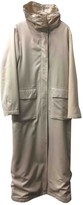 C.P. Company Beige Cotton Coat for Women