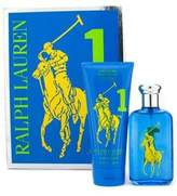Ralph Lauren Big Pony Collection Blue Coffret: Eau De Toilette Spray 100ml/3.4oz + Hydrating Body Lotion 200ml/6.7oz - 2pcs