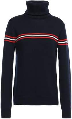Perfect Moment Striped Merino Wool Sweater