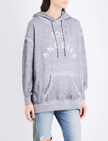 Wildfox Couture Los Angeles cotton-blend hoody