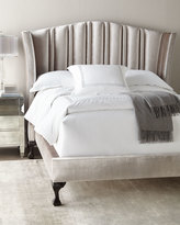 Haute House Eastwood Channel-Tufted California King Bed