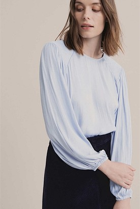 Witchery Shirred Detail Blouse