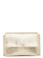 Jessica McClintock Sadie Metal Mesh Crossbody Bag