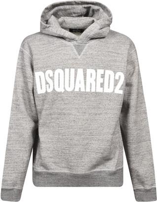 DSQUARED2 Long-sleeve Logo Print Hoodie