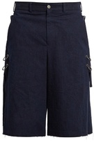 Damir Doma Poel Oversized Long Cotton Shorts